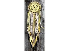 Lapač snů - žlutý