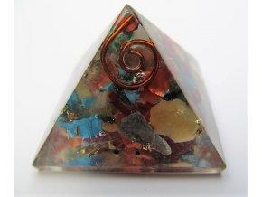 Orgonitová pyramida - čakrová
