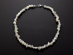Měsíční kámen náhrdelník sekaný
