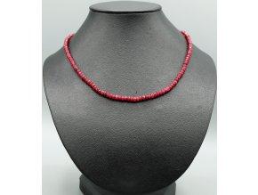 Granát náhrdelník