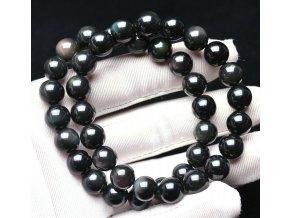 Náramek z obsidiánu 10 mm
