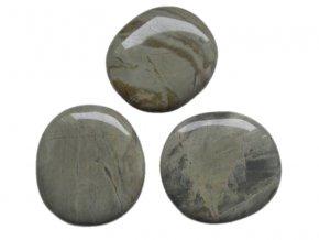 Hmatka - Jaspis stříbrný