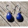 Náušnice z Lapis lazuli