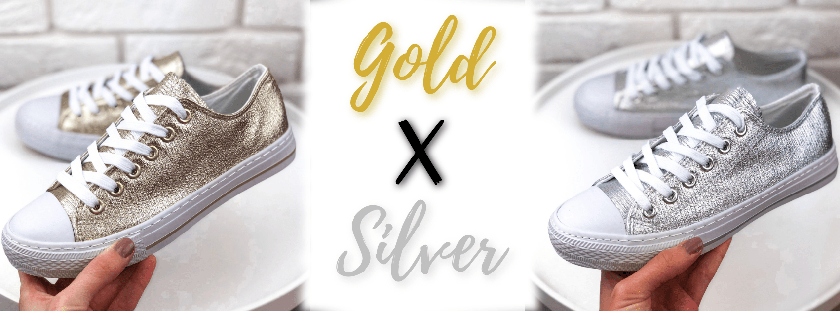 Tenisky Conver Gold x Silver