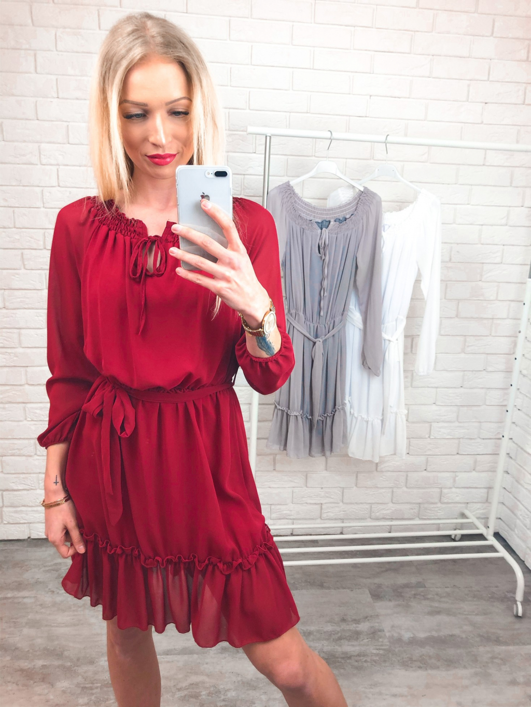 Šaty Nelly – red