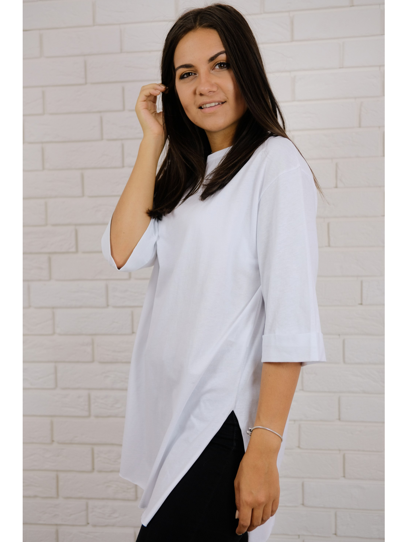 Tričko Long white