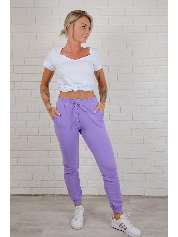 Tepláky Street violet