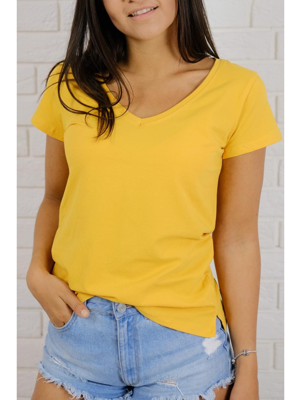 Tričko Basic yellow