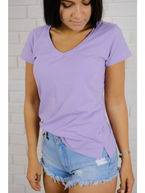 Tričko Basic violet