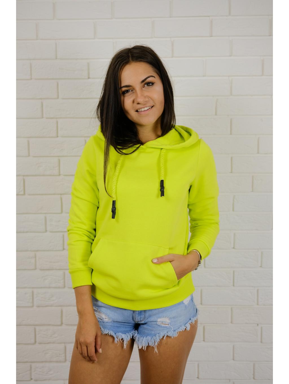 Mikina Basic neon