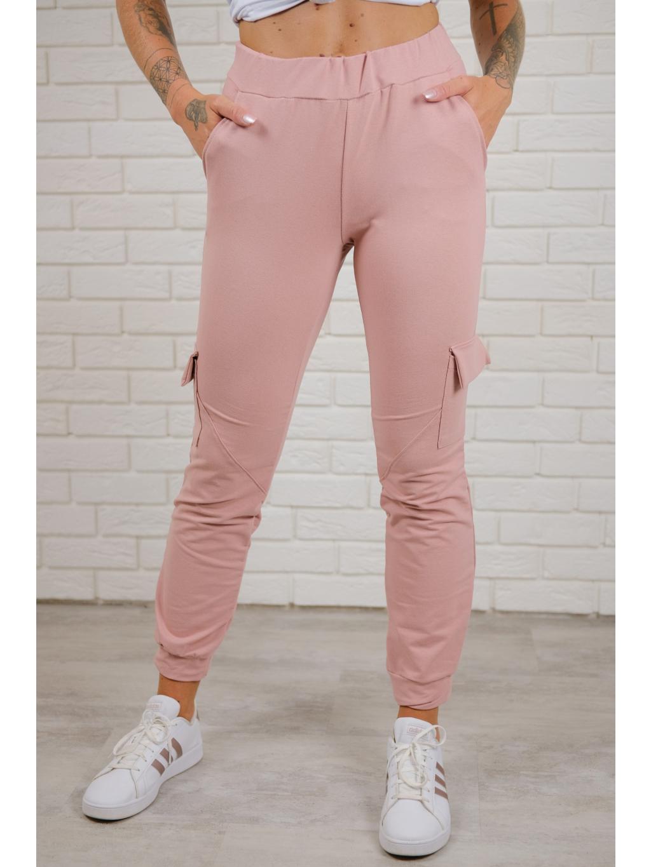 Tepláky Dusty pink