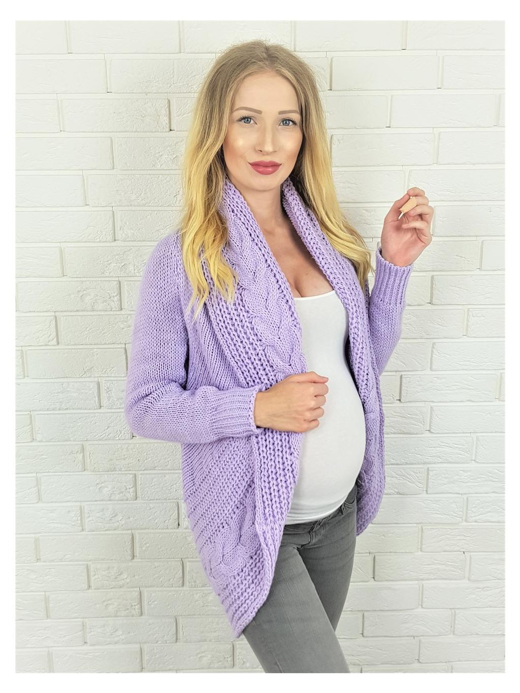 Cardigan Medis violet