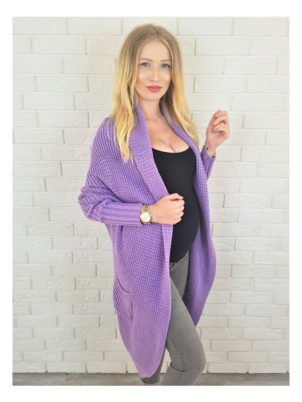 Cardigan Margit violet