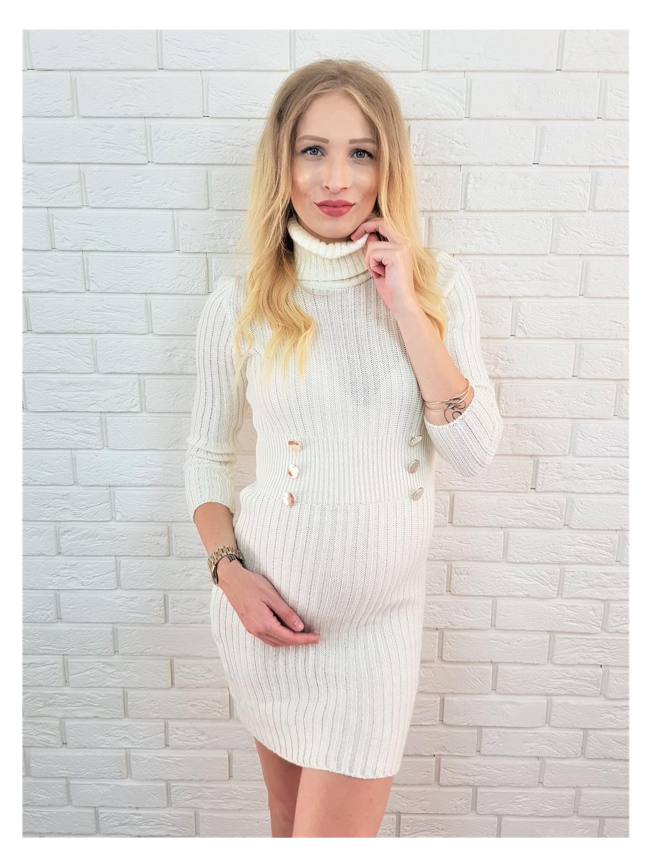 Šaty Francis white