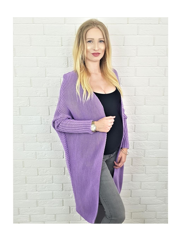 Cardigan Inge purple