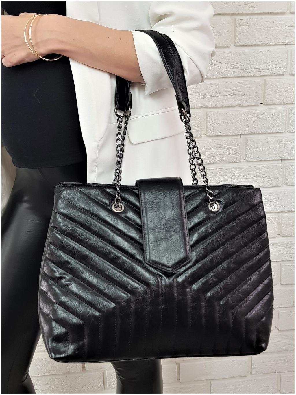 Kabelka Elegant black
