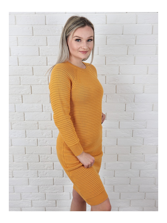 Šaty Destiny mustard