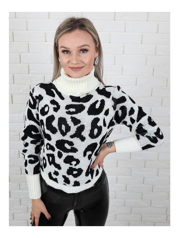 Rolák Leopard white