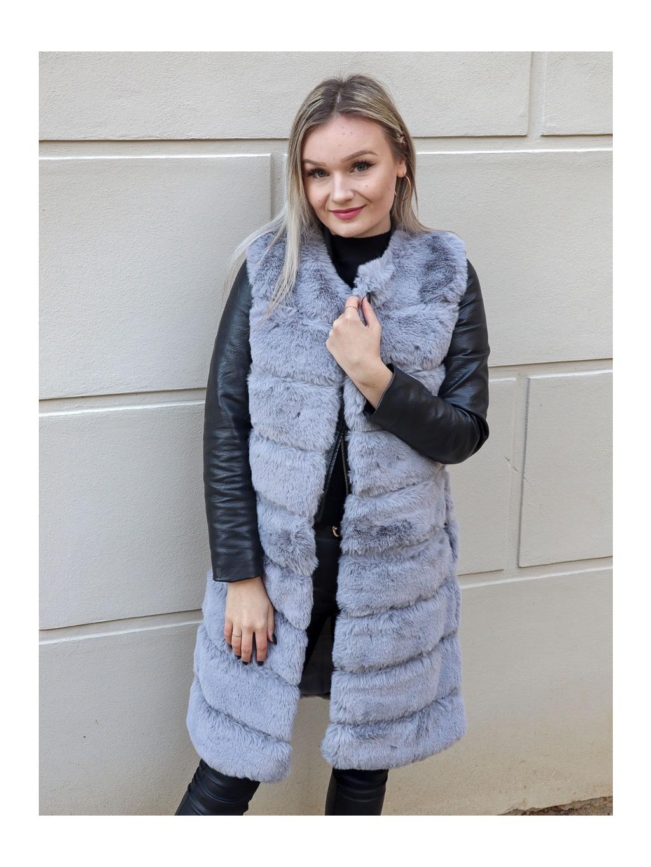 Vesta Cover grey long