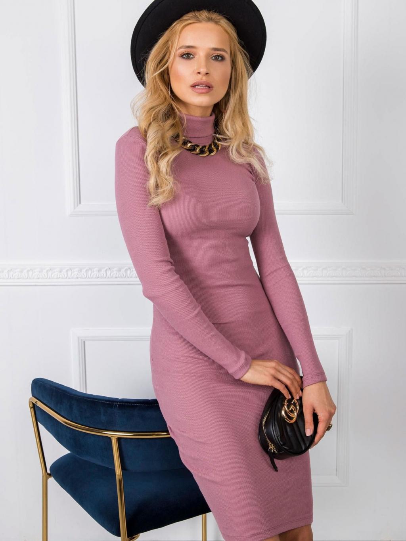 pol pl Brudnorozowa sukienka Livia RUE PARIS 346391 1