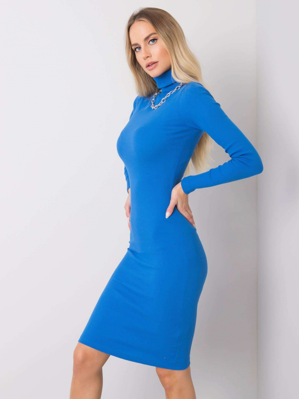 pol pl Niebieska sukienka Livia RUE PARIS 355776 2
