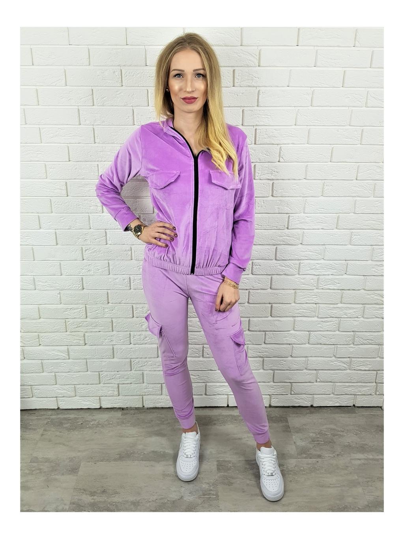 Souprava Sem purple