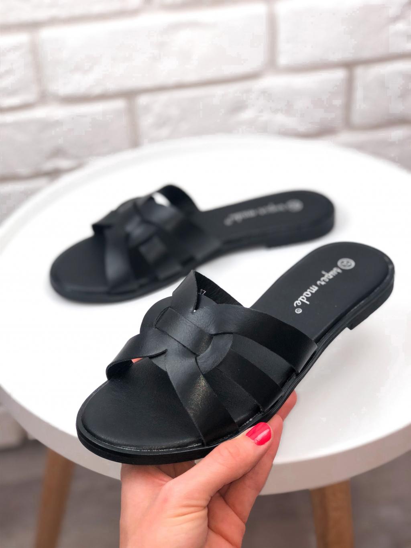 Pantofle Madison black
