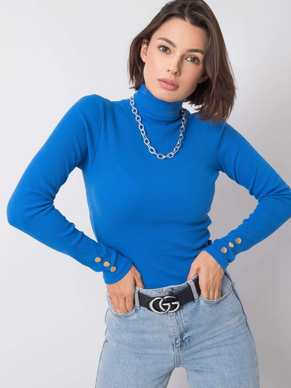 pol pl Niebieska bluzka Anette RUE PARIS 355767 3