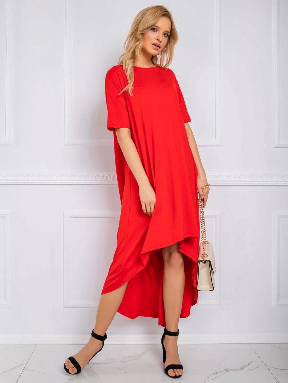 pol pl Czerwona sukienka Casandra RUE PARIS 342825 1