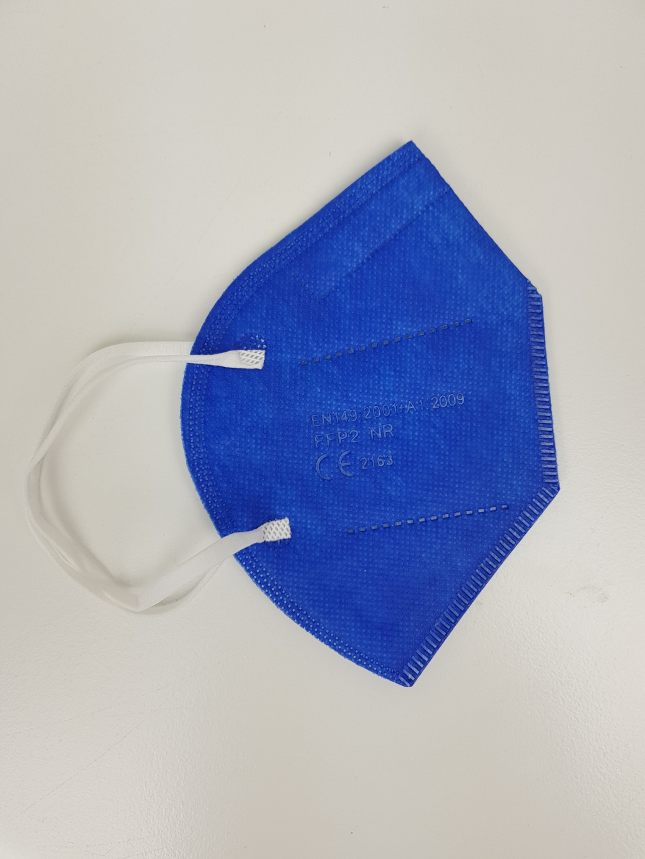 Respirátor FFP2 blue
