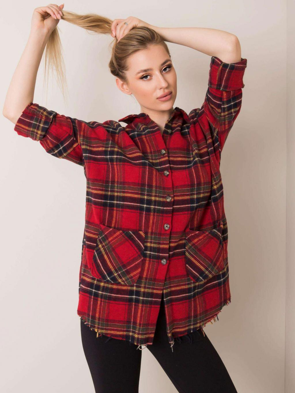 pol pl Czerwona koszula Valerie RUE PARIS 354866 1