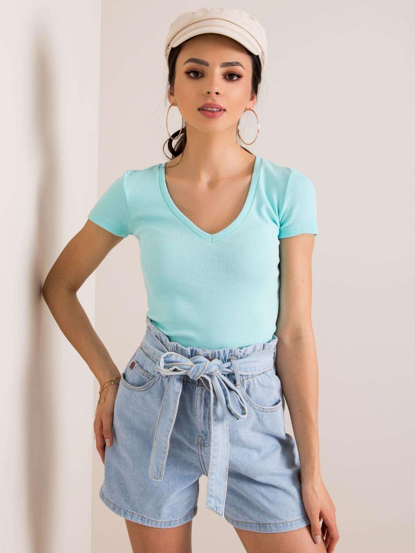 pol pl Mietowy t shirt Shilla RUE PARIS 351076 1