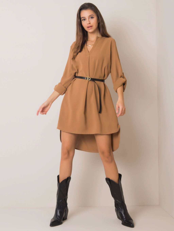 pol pl Ciemnobezowa sukienka Stella 355410 1