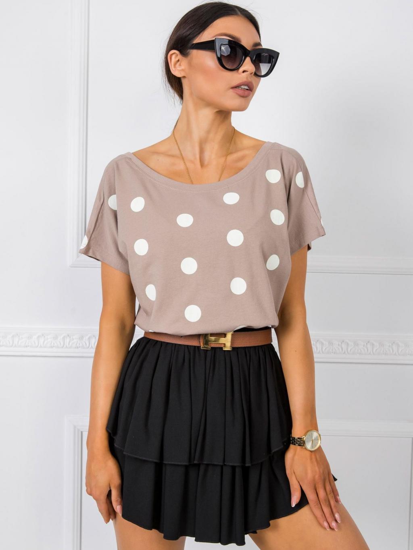 pol pl Bezowy t shirt Patrice RUE PARIS 348044 1