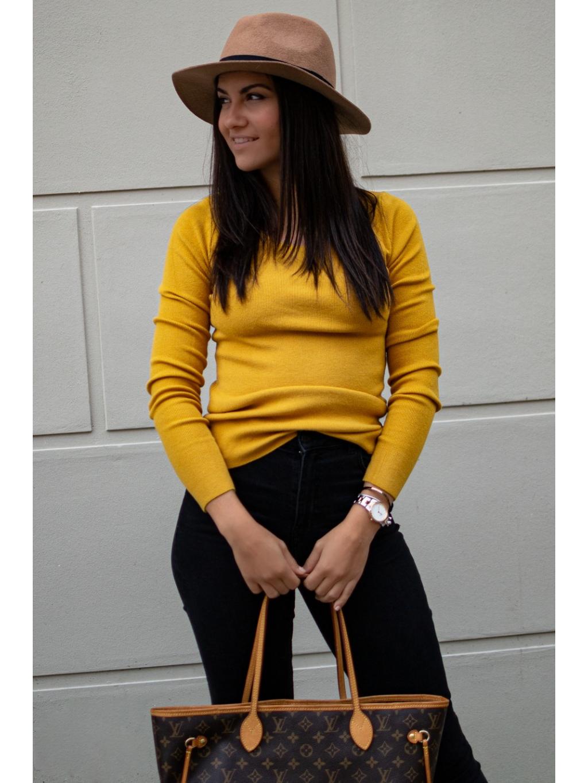 Svetřík Royan mustard