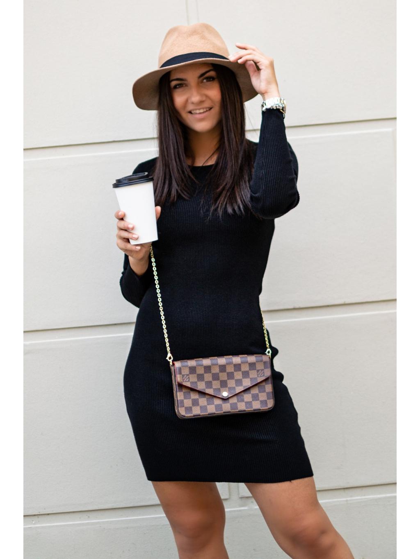 Šaty Saline black