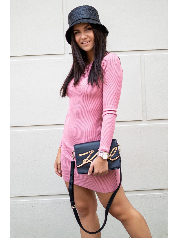 Šaty Saline pink