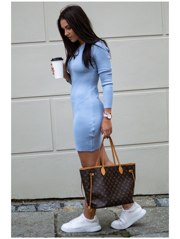 Šaty Saline blue