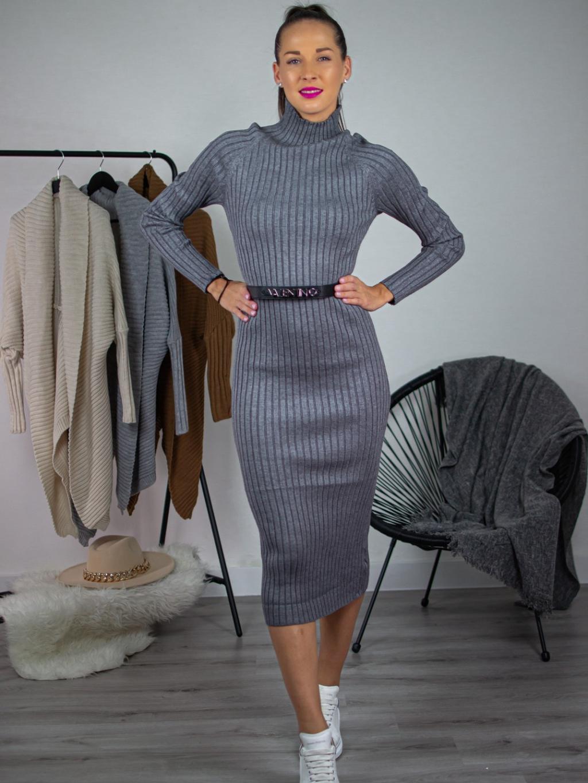 Šaty Olle grey