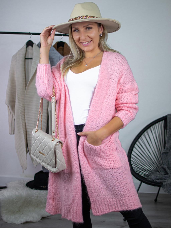 Cardigan Lelo pink