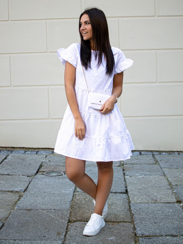 Šaty Bera white
