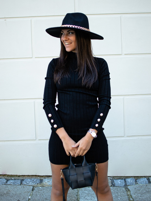 Šaty Amor black