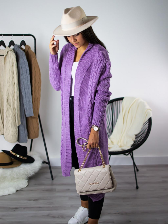 Cardigan Vivi purple