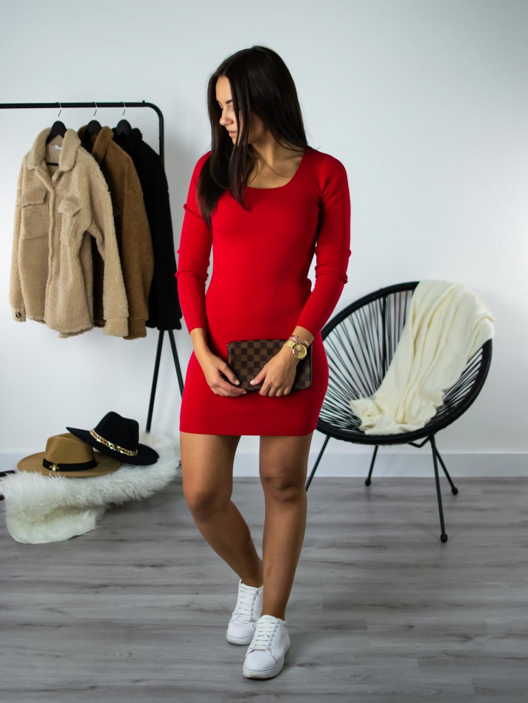 Šaty Rina red