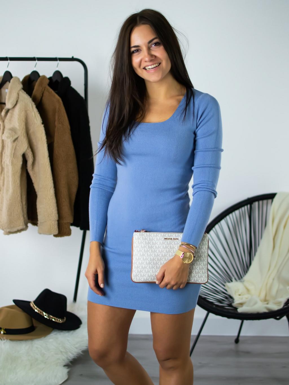 Šaty Rina baby blue