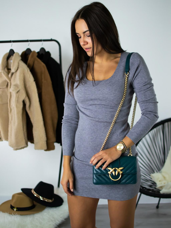 Šaty Rina grey