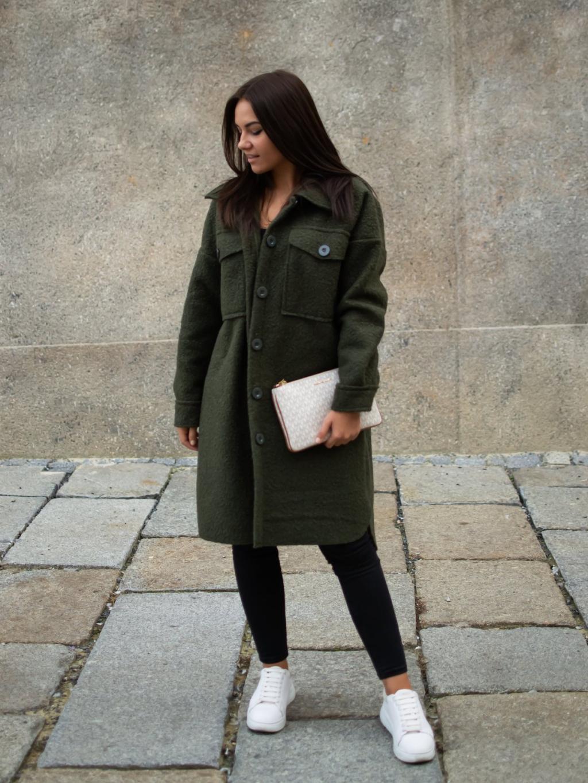 Kabát Celie khaki