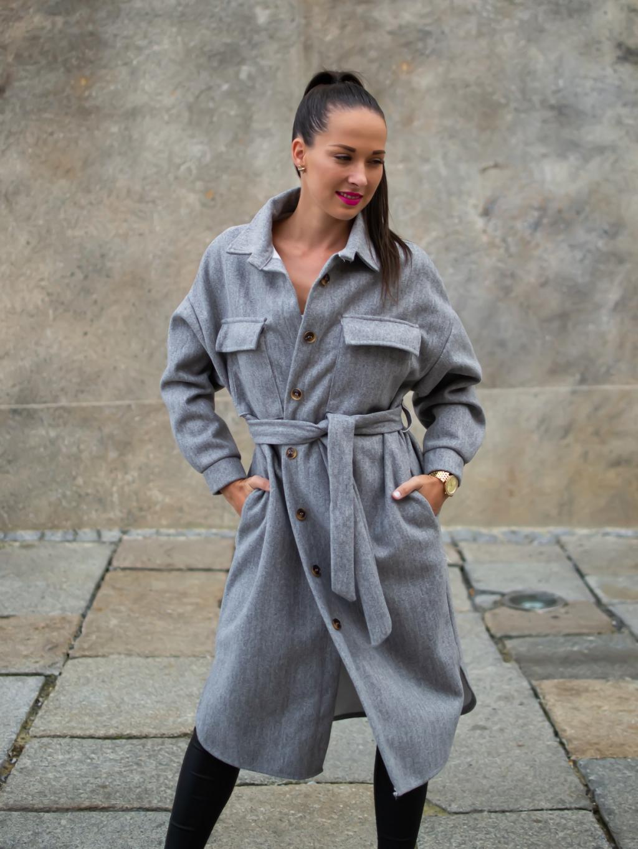 Kabát Zing grey