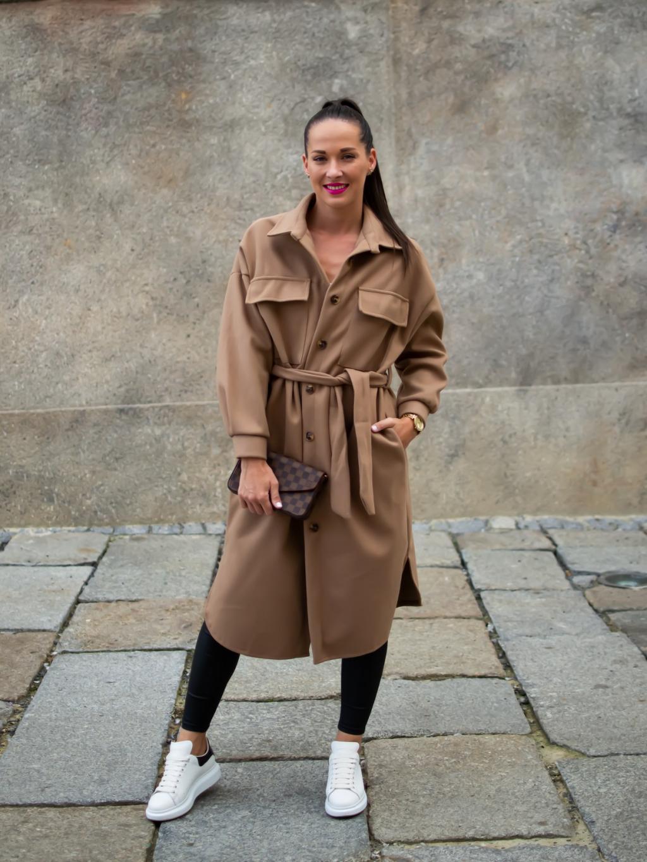 Kabát Zing brown