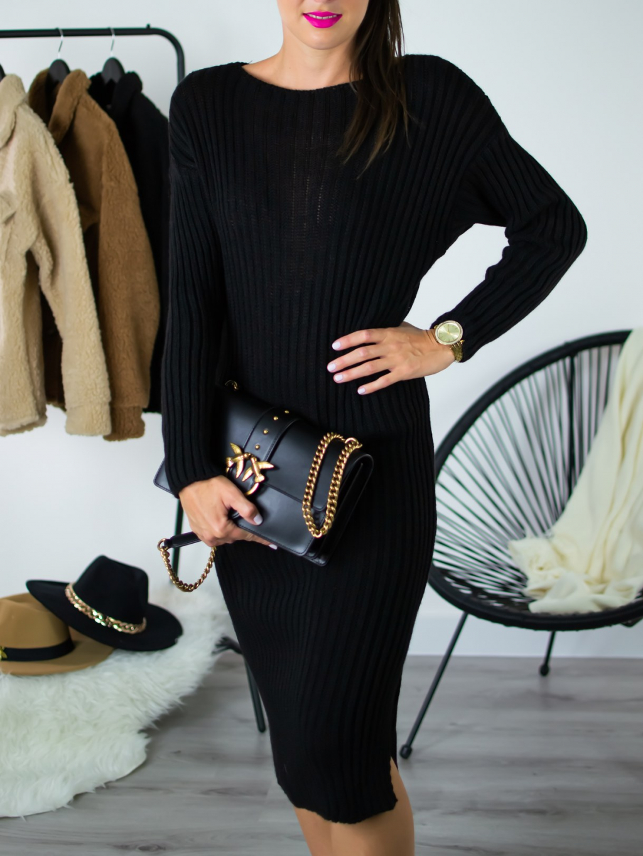 Šaty Atum black